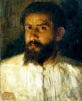 Natale Attanasio (Catania,1846-Roma,1923) Autoritratto, Pinacoteca Zelantea Acireale