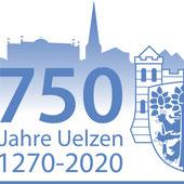 Logo zu 750 Jahre Uelzen Quelle Hansestadt Uelzen.