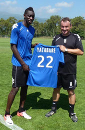 Yatabaré et Frédéric Hantz
