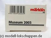 Märklin H0 48003 Museumswagen 2003 - Set Güterwagen mit Oldtimer LKW BÜSSING