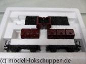 Märklin 48271 Set 2 Behältertragwagen mit Kohlekübeln