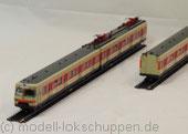 Märklin 37502 / Elektro Triebzug BR ET 420 der DB mit Schwabenbräu Werbung