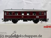 Märklin 4335 / Nebenbahnwagen der DB rot 2. Klasse