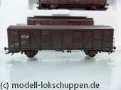 Märklin 47313 3er Set gedeckte  Güterwagen der NS einmalige Serie