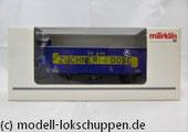 """Märklin 46159 Insider-Wagen 2000: Gedeckter Güterwagen """"Züchner-Dose"""""""