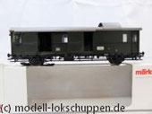 """Märklin 4316 Gepäckwagen """"Donnerbüchse""""-Einheitswagen Pwi der DB"""