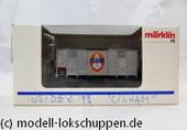 """Märklin 48853 Insider Jahreswagen `98 Gedeckter Güterwagen mit Flachdach """"Osram"""""""