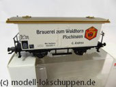 Märklin 48282 2-Achser Bierwagen Brauerei zum Waldhorn Württemberg Spur H0 OVP