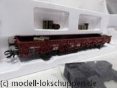 Märklin 46949 Flachwagen Brennstoff Rlmms 58 der DB / SBB Epoche III