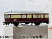 """Märklin 43151 / Einheitsnebenbahnwagen Postwagen Pwi der DB Sonderfahrt """"Nördlingen - Göppingen"""""""