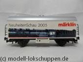 """Märklin 94184 Kühlwagen Ichqrs377 """"NeuheitenSchau 2003"""""""