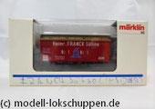 "6969 Märklin Insider Jahreswagen 1996 Klappdeckelwagen ""Heinr. FRANCK Söhne"""