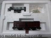 Märklin 46162 Vieh Verschlagwagen mit Viehverladerampe,  Schafen/ Hühnern