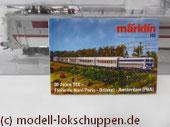 TEE Etoil du PBA Set der SNCF Märklin 39401 / 41870 / 41872