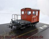 Bemo 1273 122 Rhätische Bahn Rangiertraktor Tm 2/2