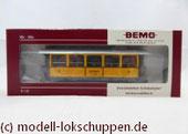 Bemo 3238 164 - Nostalgiewagen - C 114 - La Bucunada - 3 Klasse - RhB - H0m