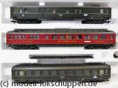 """Märklin 43258 Schnellzugwagen-Set """"Berlin-Hamburg"""" DRG Ep.2 Sonderausführung 2004"""