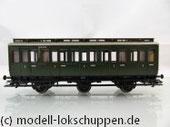 Märklin 4200, 4201, 4203 Preußische Abteilwagen  Reihe A3 B3 - 3èr Set