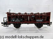 """Märklin Insider-Jahreswagen H0 2012 Säuretopfwagen DB  """"Degussa"""""""