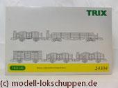 """Trix 24304 Wagen-Set zum Stahlwerk """"Maxhütte"""""""