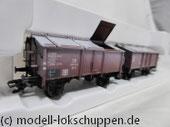 Märklin 46036 Klappdeckelwagen der  DB Doppeleinheit K 15 Epoche III