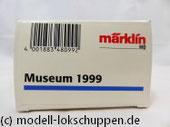 """Märklin 48099 Museumswagen 1999 - """"Württembergische Landessparkasse Stuttgart"""" und roter Oldtimer-Lkw"""