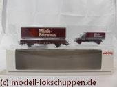 Märklin 48112 Museumswagen-Set 2012 Mink Bürsten