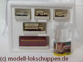 """Trix66158 Zubehörset """"Hamburger Autos"""" 5tlg. Ep. 5x WIKING zum Thema """"Tor zur Welt"""""""