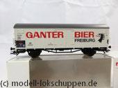 "Märklin 46201 Insider-Wagen 2004: Gedeckter Güterwagen ""Ganter Bier"""