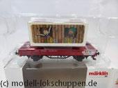 Märklin 48612 Märklin Kids Club 2012 Niderbordwagen Kklm m. 20 Fuß Container