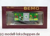 Werbewagen Schweiz - Gedeckter Güterwagen - Gk 502 - R. Blank - MOB - H0m / Bemo 2274 302
