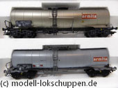 Märklin 46553 Set 2  Knickkesselwagen der NS und SNCB/ Privatwagen Armita