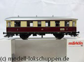 Märklin 43136 Nebenbahnwagen der DB- Exklusivausführung Göppingen Epoche IV