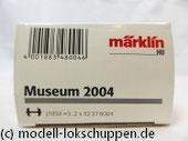 Märklin H0 48004 Museumswagen 2004 Se tKesselwagen mit MAN Oldtimer LKW