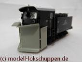 """Märklin 46119 H0 Henschel-Schneepflug Bauart """"Klima"""" der DB"""