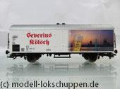 """Fleischmann 845326, H0 Kühlwagen """"Severins Kölsch"""", DB AG"""