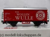 """Märklin  44199 Bierwagen """"Wulle Bier"""" der Dinkelacker-Schwaben-Bräu GmbH & Co KG, Stuttgart"""