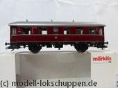 Märklin 43351 Einheitsnebenbahnwagen ABie-34 der Deutschen Bundesbahn (DB). 1. und 2. Klasse