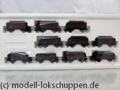 Märklin 46030 Kohlenwagenzug, 10 kurze Hochbordwagen