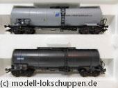 Märklin 47886 Set 2 Chemie-/ Tank Kesselwagen der NS Einmalige Serie