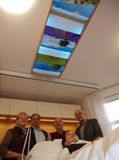 v.l.: Barbara Norff, Remy Reuter, Fritz Asche, Michael Brockerhoff und Yvonne Schauch (liegend)