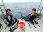 石垣島ダイビングボート「HARU」号