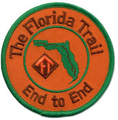 Patch awarded to hikers who complete the entire Florida Trail from end-to-end
