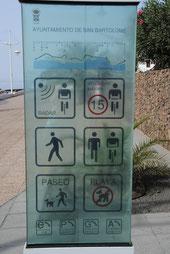 auch auf Promenaden herrschen strenge Regeln