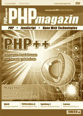 Cover-Foto: PHP Magazin 2.2013