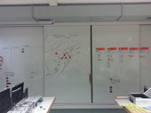 Fiktives Beispiel einer Lagekarte für die Einsatzleitung