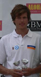 Fabian Mattes, Dritter beim Deutschen Windsurfcup am Schönberger Strand