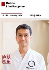 Karate Erlach, Shinji Akita-Sensei, Online-Kangeiko