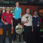Die Sieger des 14.X-Mas-Open