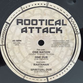 "CEDRIC CONGO MYTON, DAN I  One Nation / Rastaman (Rootical Attack 12"")"